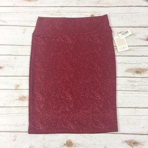 [LulaRoe] NWT Cassie Pencil Skirt Size Medium